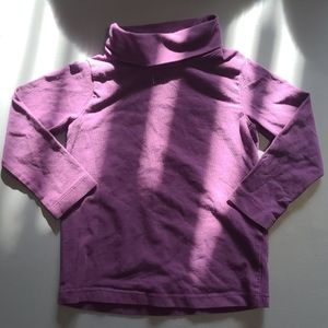 H&M Purple Turtleneck